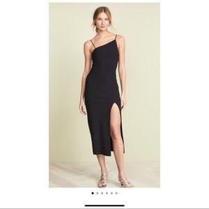 Bed & Bridge Black asymmetrical dress